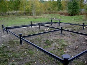 свайное основание - решение для болотистых почв