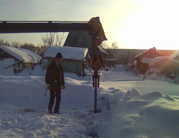 бурение скважин зимой