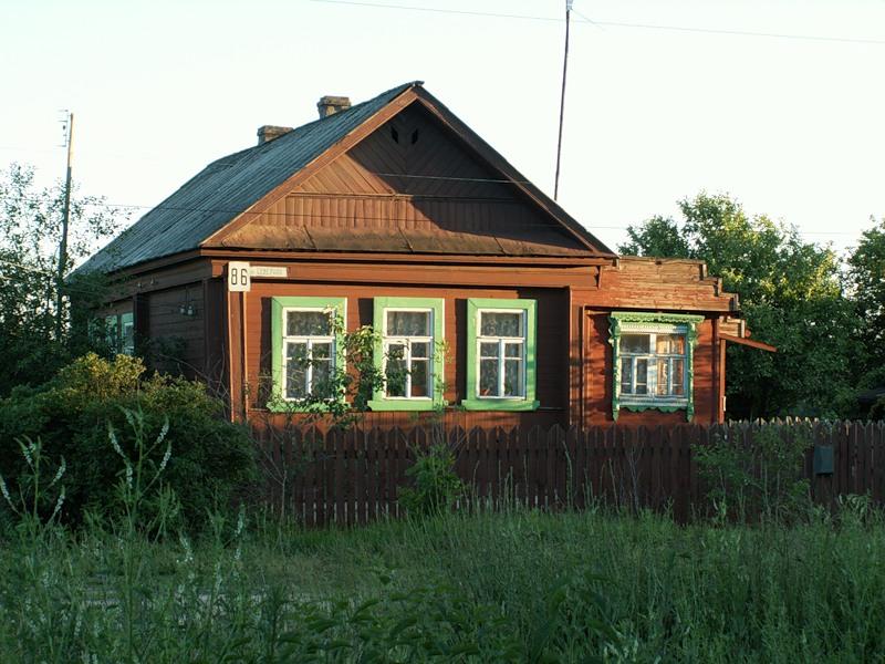 старенькый дом