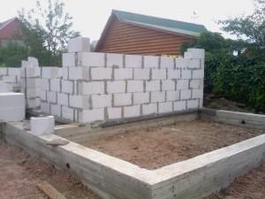 Фундамент для дома из газосиликата
