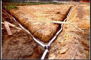 пример труб для откачки воды